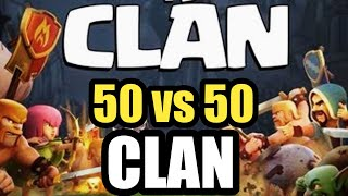 🔥50🆚50 war Live🔥||🔥Clash of Clans🔥