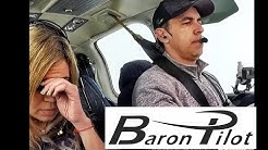 MODERATE Turbulence in a Private Airplane