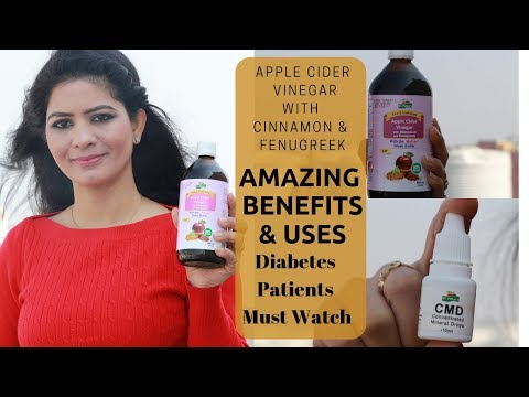 apple-cider-vinegar-with-cinnamon-and-fenugreek-||-free-mineral-drop-|-it's-benefits-and-uses