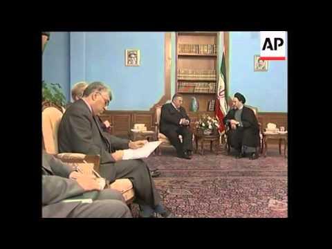 PUK leader meets Khatami, comments