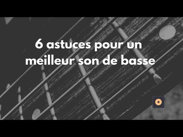 6 astuces pour un meilleur son de basse - mixage en home studio