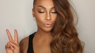 GLOWING SUMMER GLAM MAKEUP 2016 | GOLDEN & DEWY TUTORIAL | SONJDRADELUXE