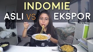 Video Indomie Asli VS Ekspor (with English Sub) | Taste and Tell #2 download MP3, 3GP, MP4, WEBM, AVI, FLV Januari 2018