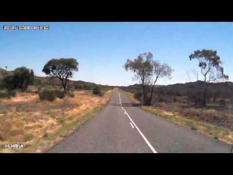 Video 282-Larapinta Drive - Standley Chasm T/O to Ellery Creek Big Hole