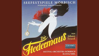 Die Fledermaus: Act III: Melodrama: Olga, komm her, Ida auch