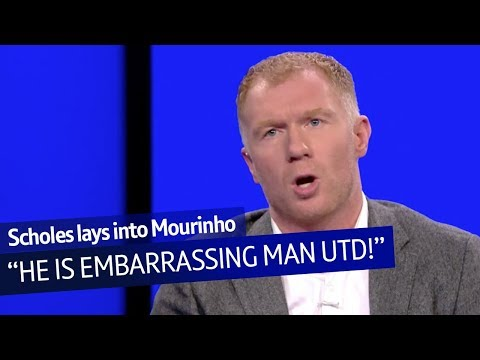 """Paul Scholes on Mourinho: """"His mouth is out of control and he's embarrassing Manchester United!"""" Mp3"""
