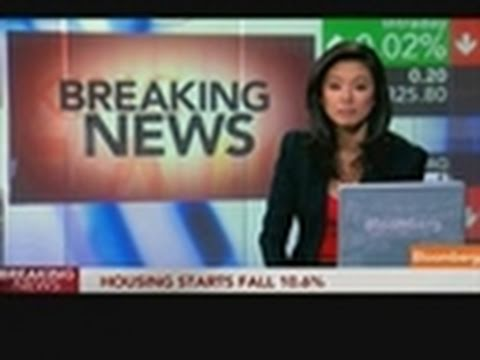 U.S. Housing Starts Unexpectedly Fall to 523,000 Pace