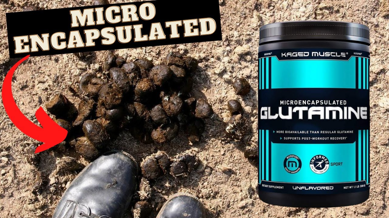 OK! Now I am Pissed😡 Microencapsulated BULLSH#T [Kaged Glutamine Review]