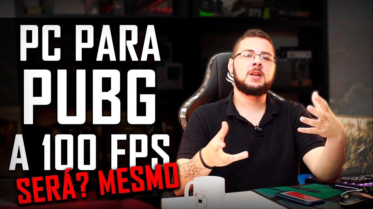 Um PC para PUBG a 100 FPS