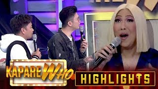 Vice receives criticism about his hosting from Jhong and Vhong | It's Showtime KapareWho