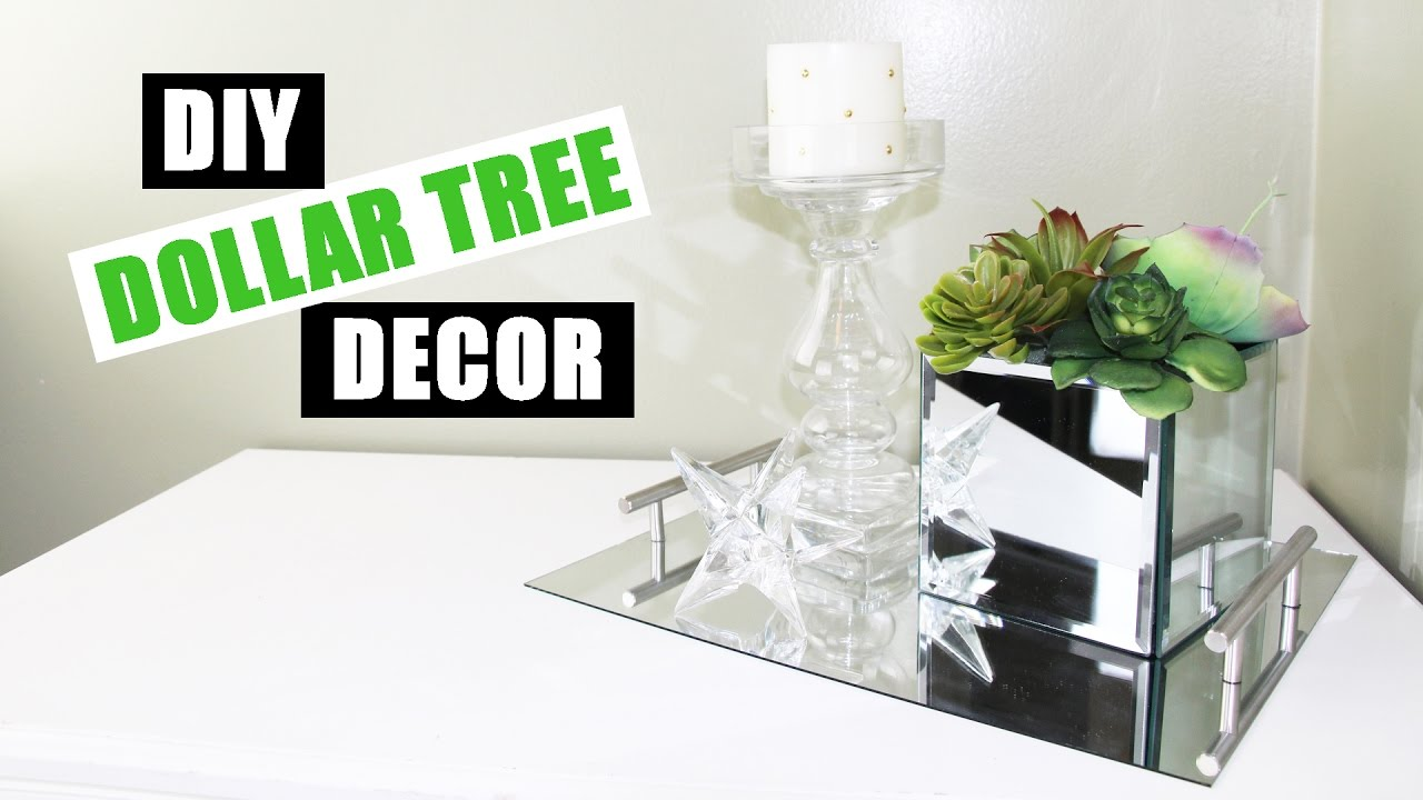 Dollar tree diy room decor dollar store diy mirrored faux succulent garden diy mirror decor - Dollar store home decor ideas pict ...