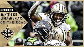 Highlights: New Orleans Saints Top Offensive Plays on the Road in 2019