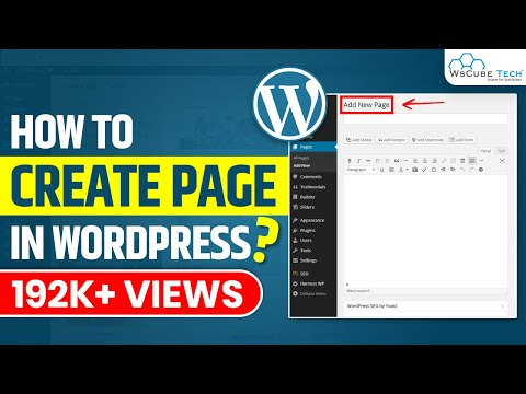 How to Create a page in Wordpress [In Hindi] | Wordpress Tutorial for Beginners | Part-3 thumbnail