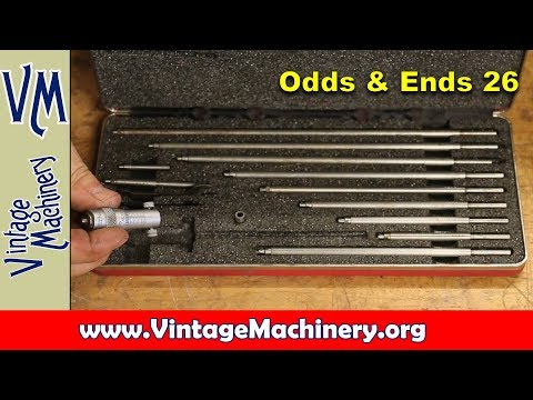 Odds & Ends 26:  California Trip, Viewer Mail and Tool Box Finds