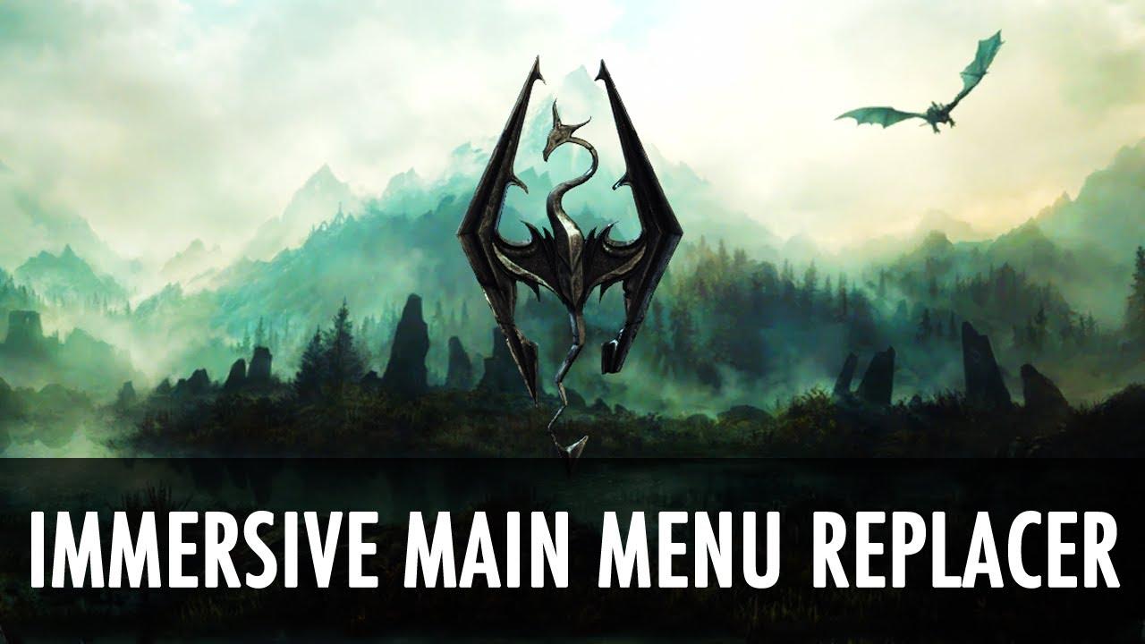how to bring up mod menu in skyrim