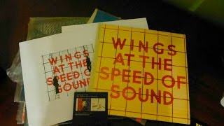 Unboxing Wings at the Speed of Sound Vinyl Archive Collection