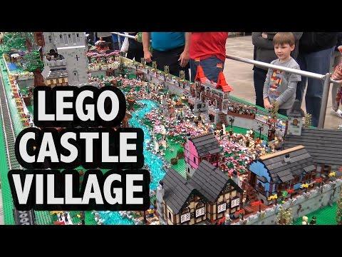 LEGO Renaissance Festival Castle Village | Brickworld Indy 2017