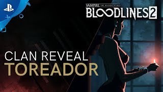 Vampire: The Masquerade - Bloodlines 2 | Clan Introduction - Toreador | PS4