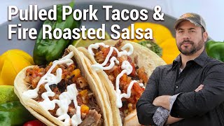 BBQ Bob Recipe: Pulled Pork Tacos with Fire Roasted Salsa