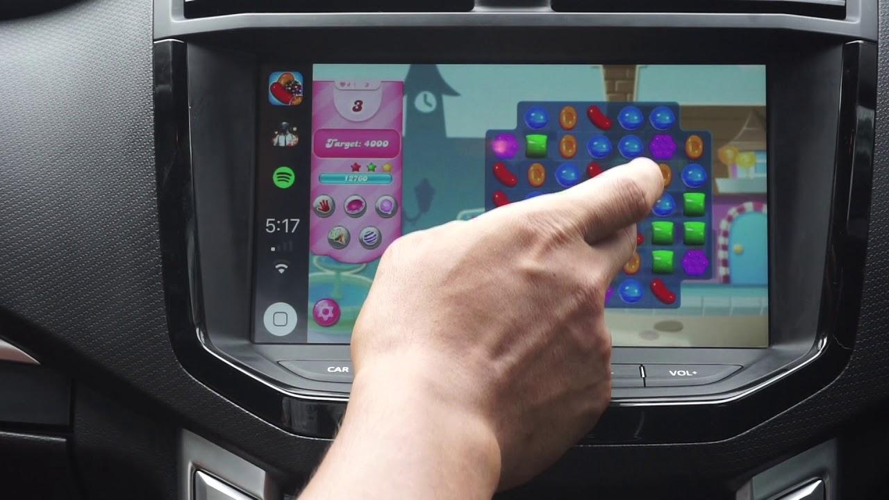 PLAY GAMES, NETFLIX, YOUTUBE on LDV T60 TRAIL RIDER Apple CarPlay ...