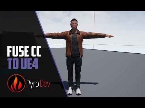 Unreal Engine 4 - Fuse CC Import