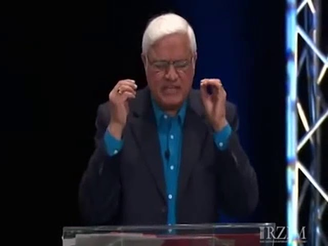Dr Ravi Zacharias  - Don't Mistake Between The Faith And The Illusion