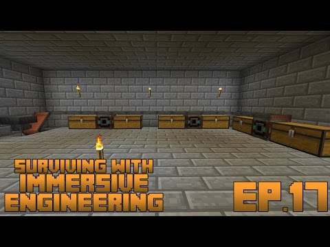Surviving With Immersive Engineering :: Ep.17 - Sorting System Overhaul