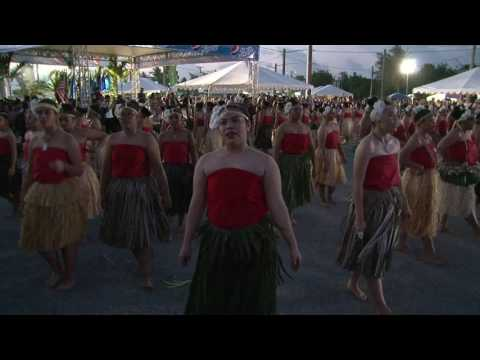 Cultural performances from the Guam Micronesia Island Fair