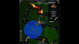 Roblox Tower Battles: Survival Mode Pt2