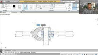 Knuckle Joint AutoCAD Tutorial