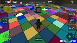 Roblox Color craze Gameplay!  EXO GAMER