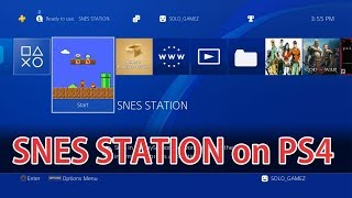 Tutorial Install SNES STATION on PS4
