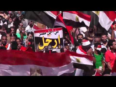 Raw: Egypt's Army Tightens Grip