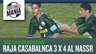 Raja Casablanca 3x4 Al Nassr - GOALS - Group Stage - 2000 Fifa Club World Cup 2017 Video