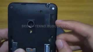 Cara mudah memasang Sim Card dan Micro SD Asus Zenfone 5