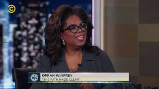 Oprah Winfrey on The Daily Show with Trevor Noah 11 April 2019