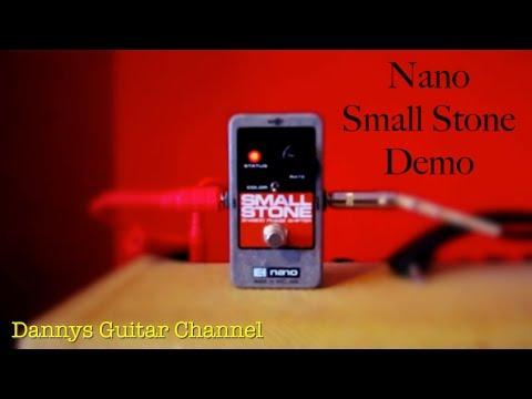 Nano Small Stone - Electro Harmonix - Demo Video