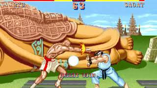 STREETFIGHTER II HYPER FIGHTING Capcom CPS 1 HYPERSPIN NOT MINE VIDEOS