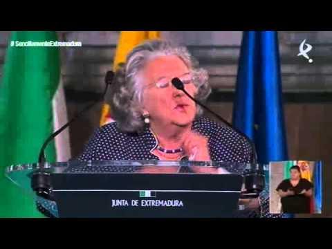 Discurso de María de los Ángeles Durán Heras, Medalla de Extremadura 2009