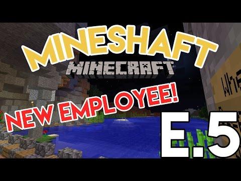 New Employee! | Mineshaft SMP - E.5