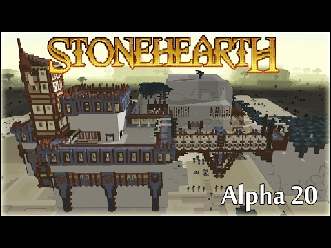 Stonehearth 22 Быть или не Быть новому Сезону Alpha 20