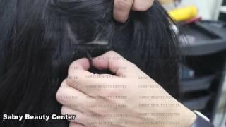 تركيب الشعر الطبيعى مركز صبرى