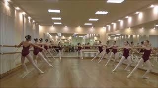 Открытый урок  по классическому танцу 6 класс, 2017 год