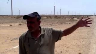 Pakistan's wind farm , Fauji fertilizer Jimpir  50mw my Sal