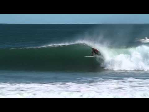 Barrels and Offshore Winds in Nicaragua