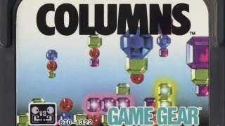 Classic Game Room - COLUMNS review for Sega Game Gear