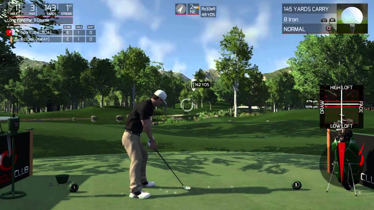 The Golf Club PS4 Gameplay - Ace Trophy/Achievement. Score ...