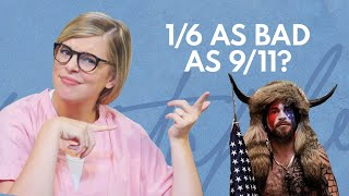 Imagine Thinking January 6th Was Even CLOSE to As Bad as 9/11 | Relatable With Allie Beth Stuckey