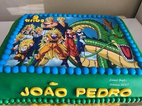 Bolo anivers rio dragon ball youtube for Cuartos decorados de dragon ball z