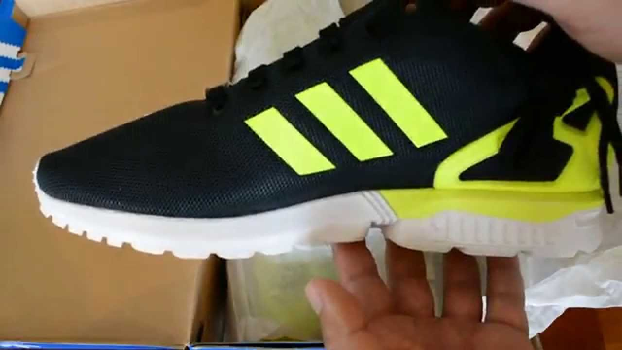 6e5a9e650397a ... denmark unboxing adidas zx flux cblack syellow fwwht sportsfusion.au  f815d 75cf0